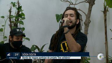 Banda Soda Solta realiza 'Live Solidária' - Uma oportunidade para curtir as músicas da banda e ajudar o próximo.