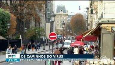 Os caminhos do vírus: como a Covid-19 chegou até o Piauí - Os caminhos do vírus: como a Covid-19 chegou até o Piauí