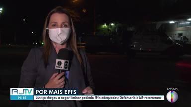 Associação de servidores afirmam que cinco respiradores saíram do HGG de Campos - Respiradores teriam sido levados para o centro de combate ao coronavírus.