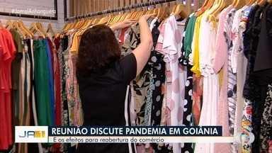 Prefeitura de Goiânia discute pedidos de reabertura de setores do comércio - Há pedidos de abertura de shoppings e da Região da 44.
