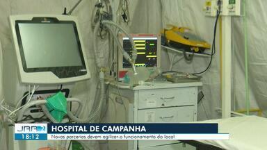 Exército anuncia parceria para agilizar inauguração do hospital de campanha de Roraima - Novas parcerias devem agilizar o funcionamento do local.