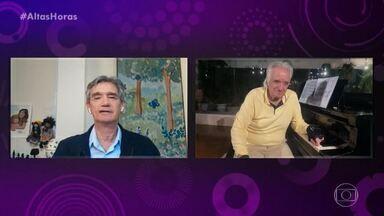 Programa de 06/06/2020 - Com entrevista inédita do Maestro João Carlos Dias, 'Altas Horas' faz homenagem ao pianista
