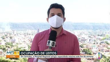 Covid-19: Confira como está a situação em Janaúba - Em Janaúba, Hospital Regional atinge capacidade máxima na primeira semana de junho.