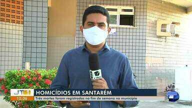 Três mortes são registradas em Santarém durante o fim de semana - Delegacia de Homicídio continua investigando os casos.