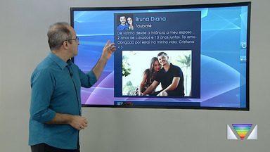 Confira participação dos internautas no Bom Dia Vanguarda - Público mandou mensagens sobre o Dia dos Namorados.