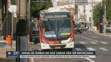 Suzantur vai disponibilizar ônibus extras em São Carlos durante o horário de pico - Um dos objetivos é evitar a superlotação em meio à pandemia do novocoronavírus.