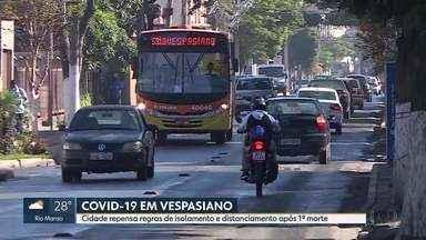 Após confirmação de 1º morte por Covid-19, Vespasiano pode endurecer isolamento social - A cidade tem 38 casos confirmados da doença e uma morte.