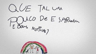 Dia dos Namorados - Noticiário fictício, criado por Luciano Huck e seus filhos, nas redes sociais, que abre espaço para a divulgação de novidades e iniciativas de solidariedade e esperança em meio à pandemia.