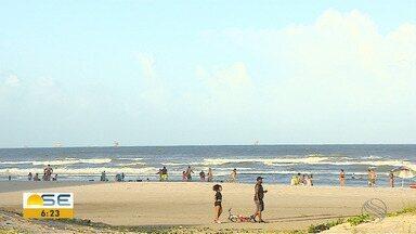 Aracaju registra movimentação em feriado durante a pandemia - Aracaju registra movimentação em feriado durante a pandemia.