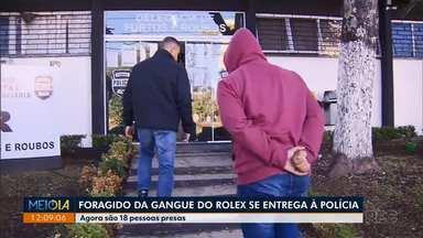 Suspeito de fazer parte da Gangue do rolex é preso - De acordo com a polícia, agora são 18 pessoas presas