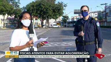 Guarda Municipal fiscaliza cumprimento do isolamento social em Vila Velha, ES - Fiscalização será intensificada neste fim de semana em pontos de aglomeração de pessoas.