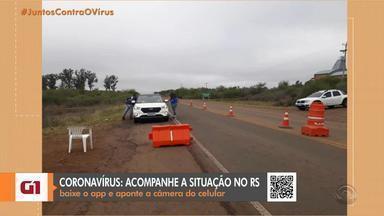 Prefeitura de Quaraí proíbe a entrada de ônibus e vans de excursão devido ao coronavírus - Foram instaladas barreiras sanitárias nas entradas da cidade.