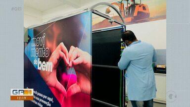 Tecnologia dos túneis de desinfecção já estão usados em Salgueiro - Petrolina e Juazeiro também vão receber equipamentos parecidos.
