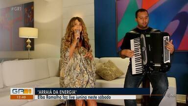 Dia de Santo Antônio vai rolar live da cantora Elba Ramalho - A live será transmitida no canal do Youtube da artista.