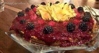 """""""Histórias e Sabores"""" traz a receita de Cheesecake de Framboesa - Aprenda o passo a passo da sobremesa que é de dar água na boca!"""
