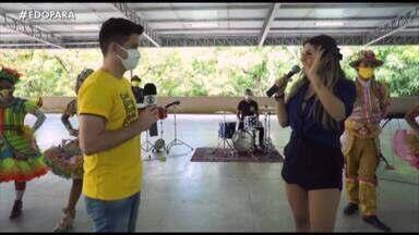 É do Pará bate um papo com a cantora Adriana Oliver - É do Pará bate um papo com a cantora Adriana Oliver