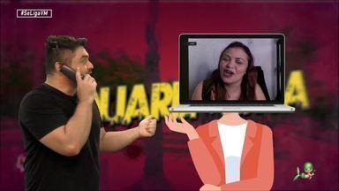 O humor de Dinah Moraes contra a ansiedade em tempos de quarentena - É rir pra não chorar com a comediante cearense e suas histórias engraçadas
