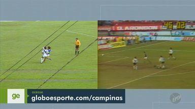 Dicá e Neto disputam gol mais bonito da história do futebol de Campinas - Vencedores das enquetes de Ponte Preta e Guarani concorrem na votação final do Globo Esporte.