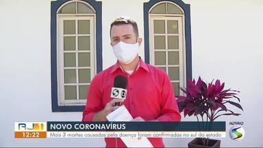 RJ1 atualiza os números da pandemia no sul do estado - Confira as informações dos últimos boletins divulgados pelas secretarias municipais de saúde.