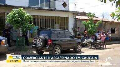 Comerciante é morto em Caucaia - Saiba mais em: g1.com.br/ce