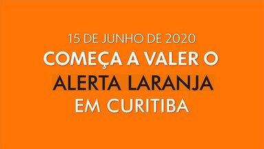Começa a valer o alerta Laranja pra Curitiba - Com o novo decreto da prefeitura, academias, igrejas e locais de aglomeração ou fecham ou passam a ter restrição de horário