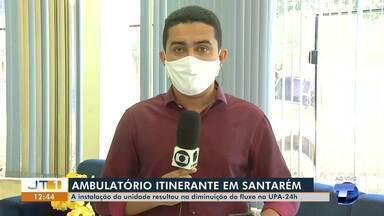 Instalação de unidades descentralizadas diminui fluxo de pessoas na UPA 24h, em Santarém - Acompanhe em números, quantidade de atendimentos realizados.