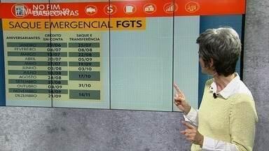 Governo divulga calendário do saque emergencial do FGTS; confira como ficará o pagamento - Governo divulga calendário do saque emergencial do FGTS; confira como ficará o pagamento