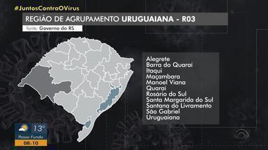 Prefeitos da região de Uruguaiana contestam bandeira vermelha no distanciamento controlado - Justificativa é que oito leitos não haviam sido cadastrados junto ao governo do RS.