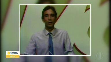 Inter TV Grande Minas completa 40 anos de história - Selo dos 40 anos passa a fazer parte da programação da Inter TV Grande Minas.