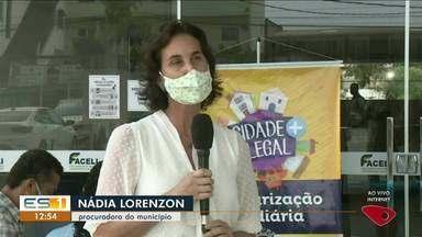 Prefeitura de Linhares começa a entregar títulos de regulamentação fundiária, no ES - Veja a reportagem.