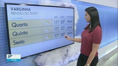 Confira a previsão do tempo para os próximos dias no Sul de Minas - Confira a previsão do tempo para os próximos dias no Sul de Minas