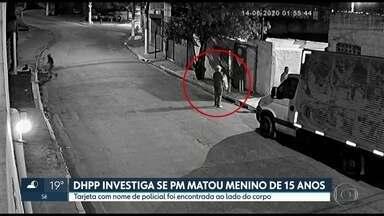 Polícia investiga se PM matou menino de 15 anos na Zona Sul de São Paulo - O caso do Guilherme está sendo investigado pelo Departamento de Homicídios da Polícia Civil, que não descarta que a participação de policiais militares no crime.