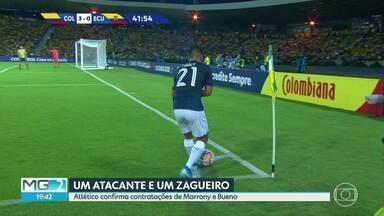 Movimentação nos times mineiros - Enquanto o Atlético anuncia mais dois esforços, Cruzeiro abre mão de dois jogadores para equilibrar as contas.