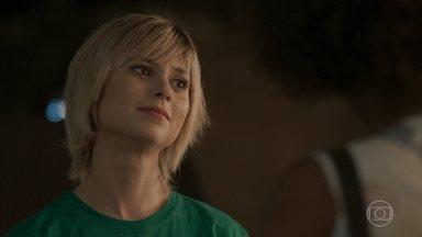 Lu propõe a Adele que ambas sejam somente amigas - Jamaica fica decepcionado por não conseguir ficar com a jornalista