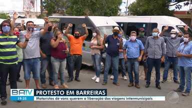 Destaques do dia: Motoristas de vans querem a liberação das viagens intermunicipais - Veja este e outros destaques desta terça-feira (16).