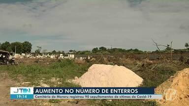 Sobe o número de enterros em cemitérios de Santarém - Protocolo para sepultamentos de pessoas com suspeita ou confirmação de Covid-19 é diferenciado.