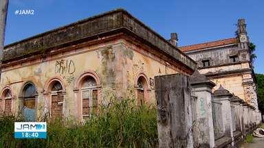 Desativada há 4 anos, prédio da Cadeia Raimundo Vidal Pessa segue abandonado - Antiga cadeia fica situado no centro de Manaus
