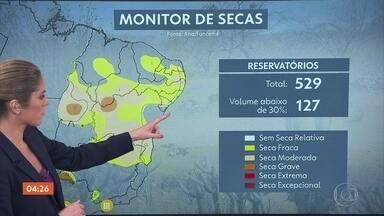 Previsão é de chuva forte para o litoral de PE, PB e RN nesta quarta-feira - No Norte pode chover bastante do Amazonas até o Pará.