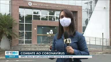 MP discute ações de combate à Covid-19 com municípios do Norte do ES - Confira na reportagem.