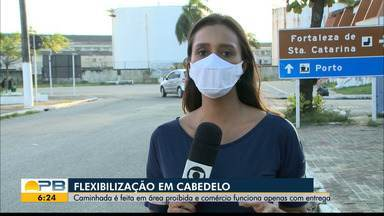 Flexibilização em Cabedelo; caminhadas estão sendo feitas em áreas proibidas - Confira os detalhes na reportagem de Felícia Arbex.