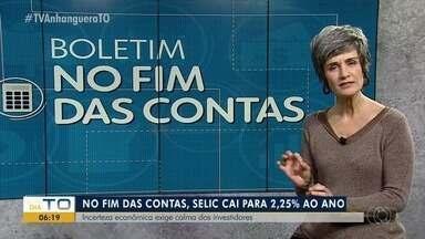 Banco Central baixa os juros da taxa Selic para 2,25% ao ano; Mônica Carvalho dá detalhes - Banco Central baixa os juros da taxa Selic para 2,25% ao ano; Mônica Carvalho dá detalhes