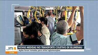 Prefeitura de Blumenau anuncia novas medidas após ônibus cheios na cidade - Prefeitura de Blumenau anuncia novas medidas após ônibus cheios na cidade