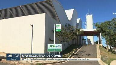 Após novo recorde de mortes, Campinas transforma UPA em unidade exclusiva para Covid-19 - Unidade Carlos Lourenço encerra atendimento à população às 18h desta quarta (17), e passa a receber pacientes internados na quinta (18); serão 28 leitos de retaguarda.