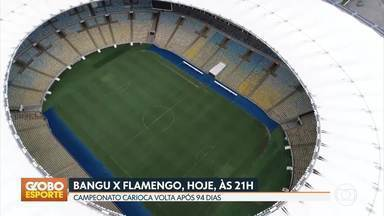 GE no DF1: Campeonato Carioca volta nesta quinta-feira com Bangu x Flamengo no Maracanã - GE no DF1: Campeonato Carioca volta nesta quinta-feira com Bangu x Flamengo no Maracanã