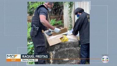 Polícia Federal faz operação contra a mineração ilegal - Mandados de busca e apreensão foram cumpridos em Pedro Leopoldo e Funilândia, na Região Central do estado.