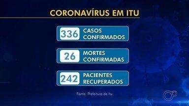 Acompanhe os números do coronavírus nas regiões de Sorocaba, Jundiaí e Itapetininga - Acompanhe os números atualizados do coronavírus nas regiões de Sorocaba, Jundiaí e Itapetininga (SP) nesta quinta-feira (18).