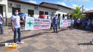 Agentes de saúde suspendem greve após acordo em Santa Inês - Paralisação durou mais de 20 dias.