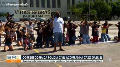 Caso Gabriel: Corregedoria da Polícia Civil acompanha as investigações - Gabriel dos Santos é acusado de envolvimento em roubo de carro e tentativa de extorsão.