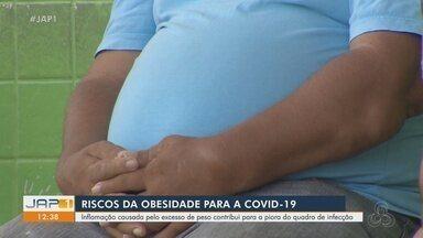 Inflamação causadas pelo excesso de peso contribui para piora no quadro da Covid-19 - Inflamação causadas pelo excesso de peso contribui para piora no quadro da Covid-19