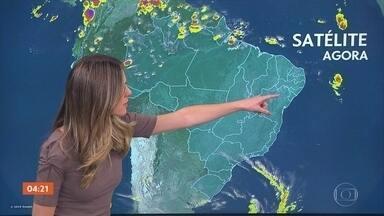 Previsão é de chuva forte no litoral do Nordeste e no sul do RS nesta sexta-feira - Veja a previsão do tempo para todo o país.